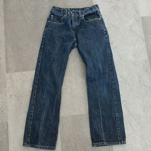Levi's boot cut 27x29/18 slim jeans